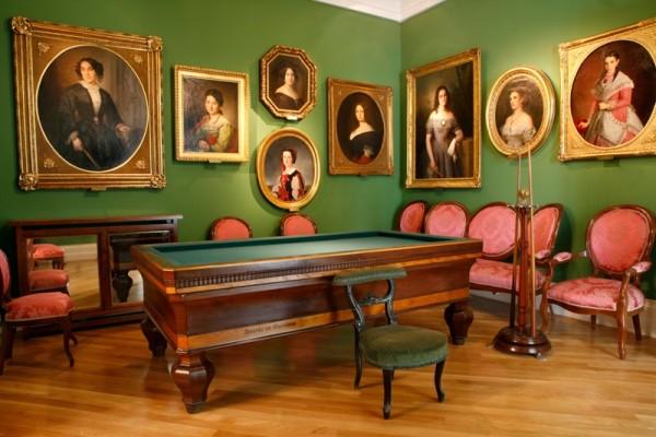 Sala de billar. Museo del Romanticismo