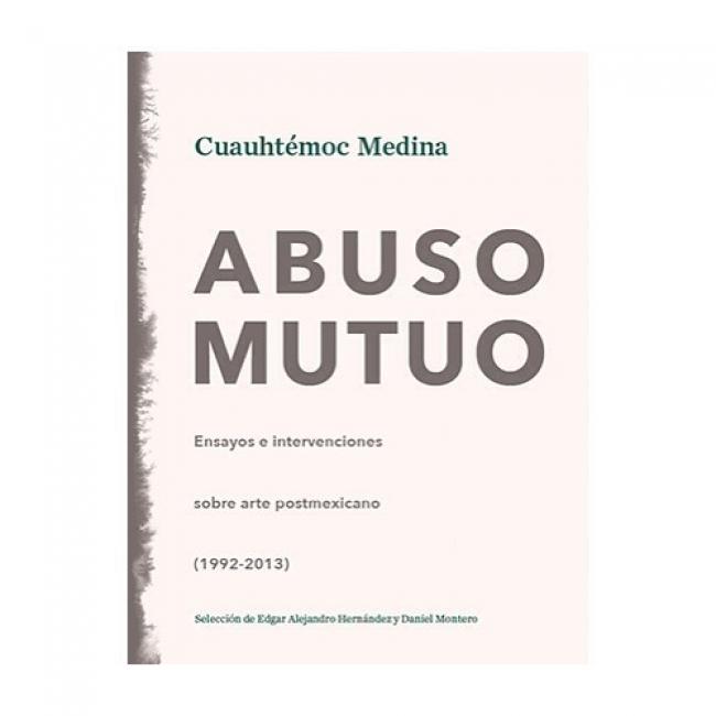 """Portada de """"Abuso Mutuo"""", de C. Medina, su último libro"""