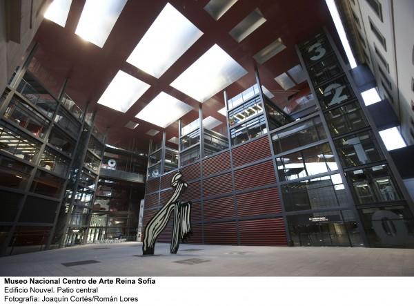Patio Nouvel | Ir a la ficha de 'Museo Nacional Centro de Arte Reina Sofía (MNCARS)'. Centro de arte, Museo, Organización con colección