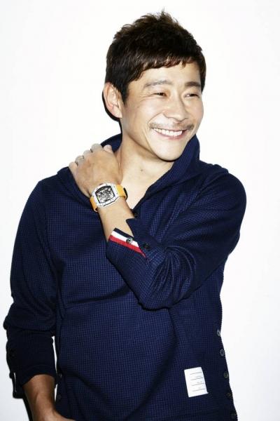 El coleccionista japonés Yusaku Maezawa Cortesía de SOTHERBY'S y EFE