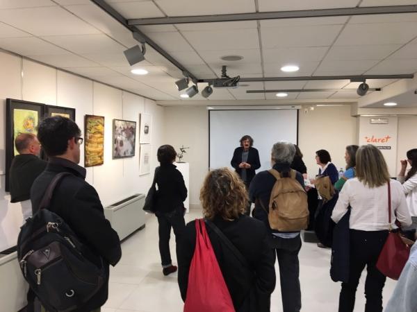 Fundació Claret Abril 2107 | Ir a la ficha del Artista 'Margarita Gámez Cornejo'