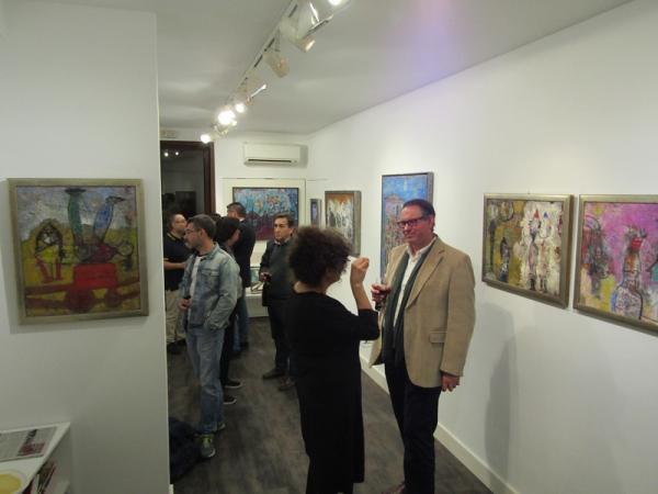 Exposición Viaje Interior | Ir a la ficha del Artista 'Margarita Gámez Cornejo'