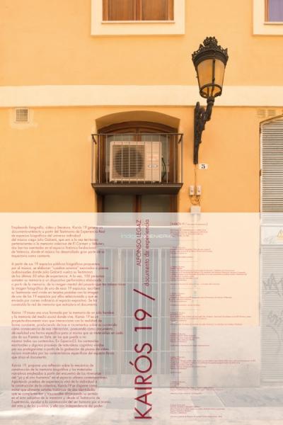 KAIRÓS 19 / Artefacto / DOC_Comunidad | Ir a la ficha del Artista 'Alfonso Legaz'