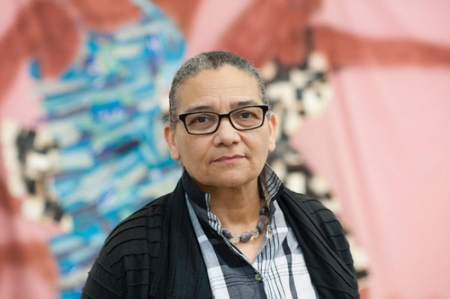 Lubaina Himid, 2017 Courtesy of the artist and Hollybush Gardens Photo: Edmund Blok for Modern Art Oxford