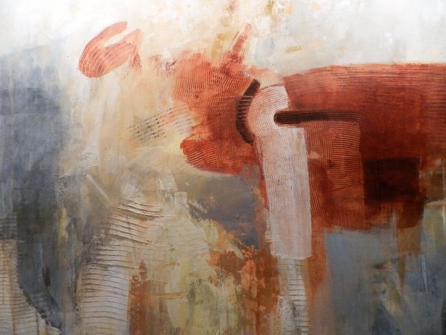 Resurgir, acrílico sobre lienzo 100 x 80cm