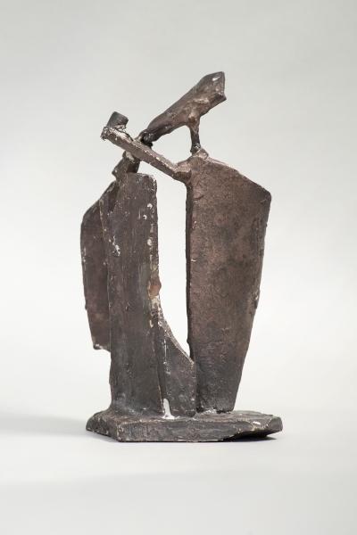 Serie Puertas I - bronce - 10 x 8 x 17 cm