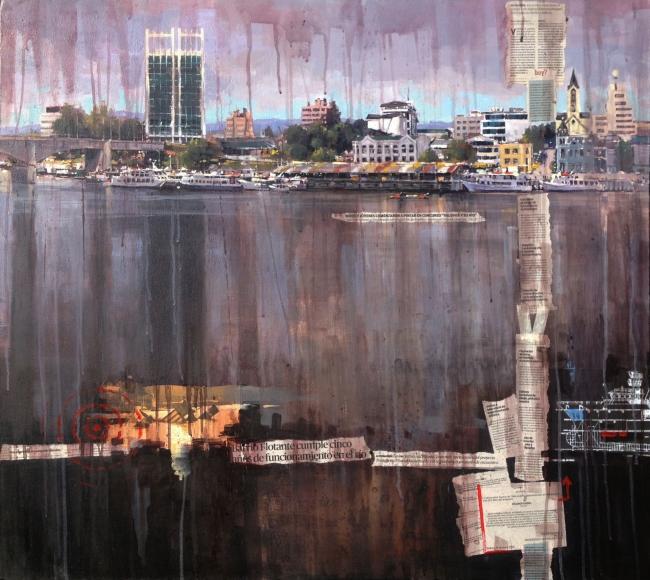 Valdivia y su río | Ir a la ficha del Artista 'Edgardo Contreras de la Cruz'