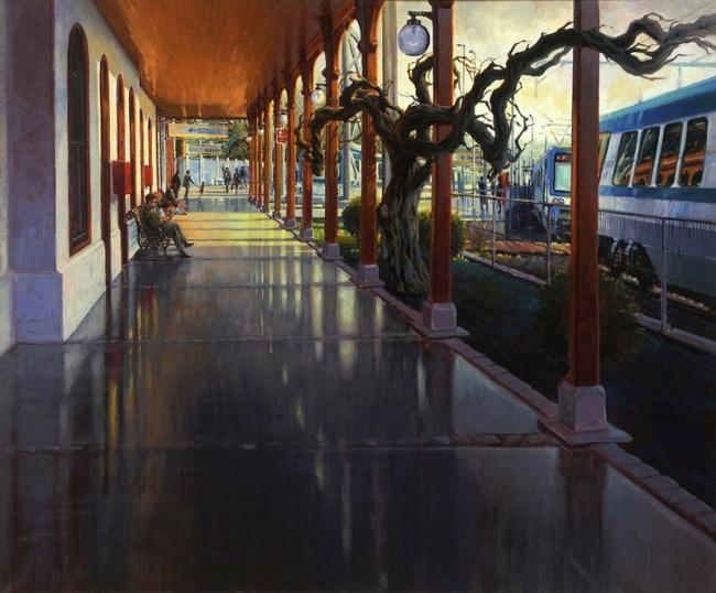 Estación de Limache | Ir a la ficha del Artista 'Edgardo Contreras de la Cruz'