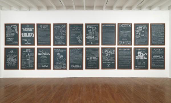 Serie Repasos. Primeros veinte | Ir a la ficha del Artista 'Miguel Aguirre'