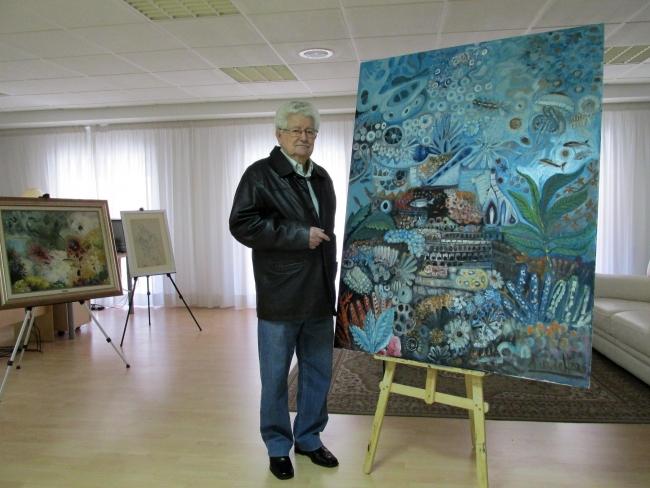 Antonio Domínguez de Haro en sus 90 cumpleaños