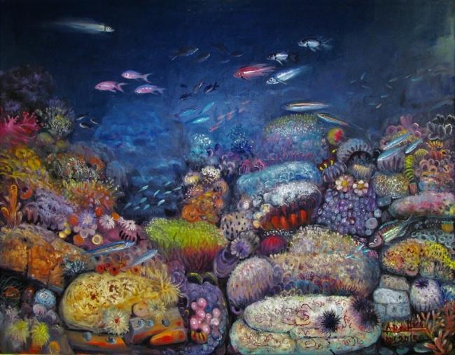 Oricios. // Oleo sobre lienzo// 146x114// año 2015// Precio: 88,000€ | Ir a la ficha del Artista 'Antonio Domínguez de Haro'