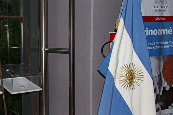 Expo Latinoamérica en H Cámara de Diputados de la Nación Argentina - Obra expuesta