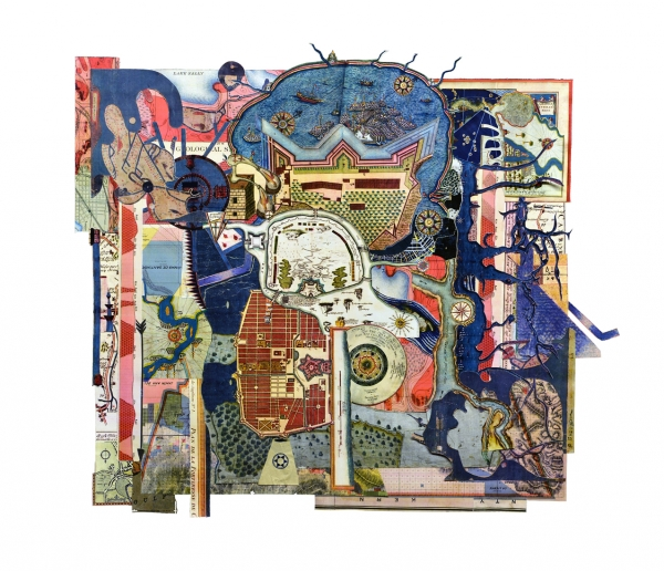 Collage V 51x59cm