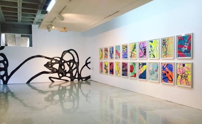"Exposición ""Desgaste sobreestimulado"" (MACZUL, 2017)"