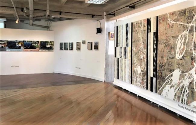 """Desgaste sobreestimulado, 2017 (exposición """"Urbes"""")"""