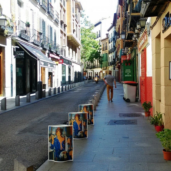 Cava Baja Gallery, entre fondas y tabernas. Madrid de los Austrias, Barrio de La Latina