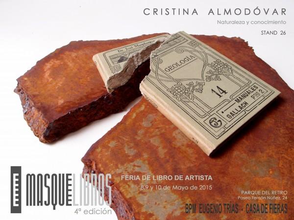 Naturaleza y conocimiento. Masquelibros 2015 | Ir a la ficha del Artista 'Cristina Almodóvar'