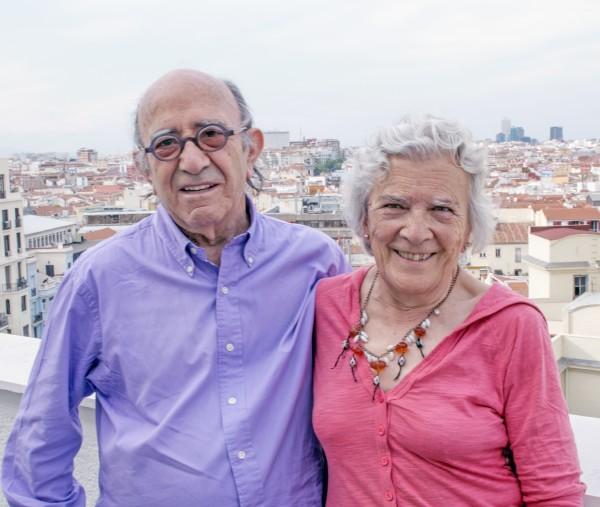 Martín Blanco y Elena Rueda
