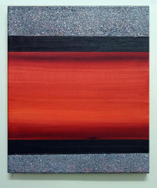 Red Floyd  55 X 46 cm  óleo sobre lienzo