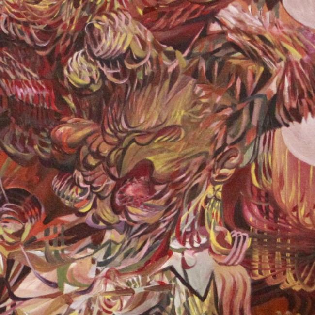 Detalle. Óleo sobre tela. 2018 | Ir a la ficha del Artista 'Adrián Bastarrachea'