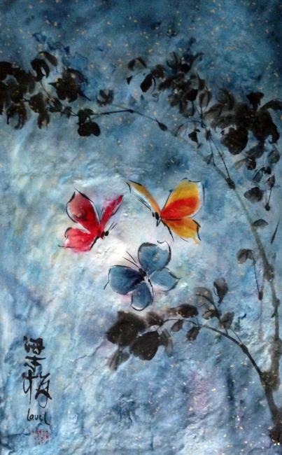 Mariposas en la noche