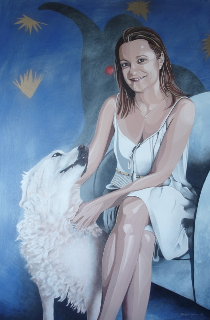 Esther · oil on canvas · 110x160cm.