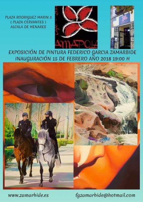 Exposición Federico Garcia Zamarbide