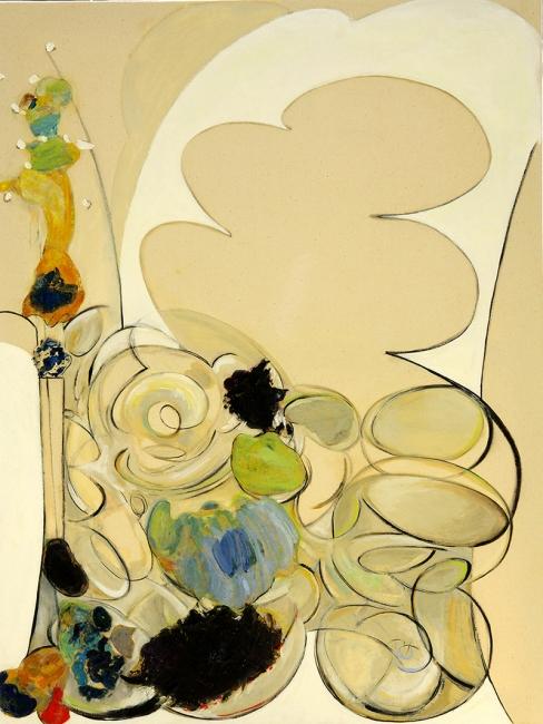 Imaginación, Serie Sobre La Duda, Tríptico I, 2010, óleo/tela, 120x90cm