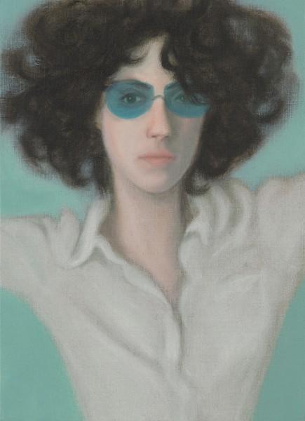 Blue glasses | Ir a la ficha del Artista 'Juan Fernández Álava'