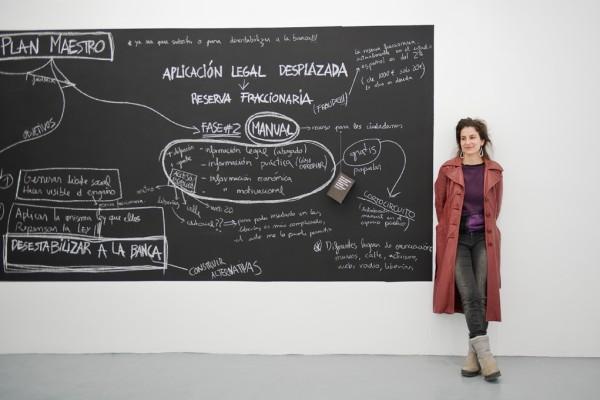 Núria Güell. Cortesía de Roberto Ruiz