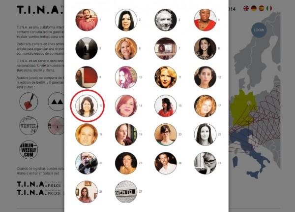 Tina prize _curadora