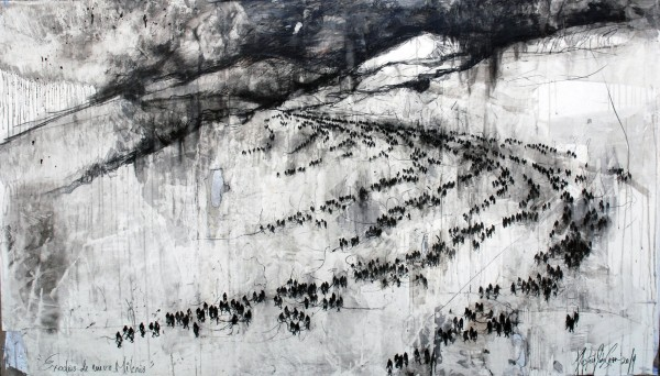Éxodos de Nuevo Milenio / 130 x 190 cm / 2014