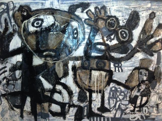 De la Serie Caracas Grafitti, 2017 | Ir a la ficha del Artista 'José Gregorio Graterón Luque'
