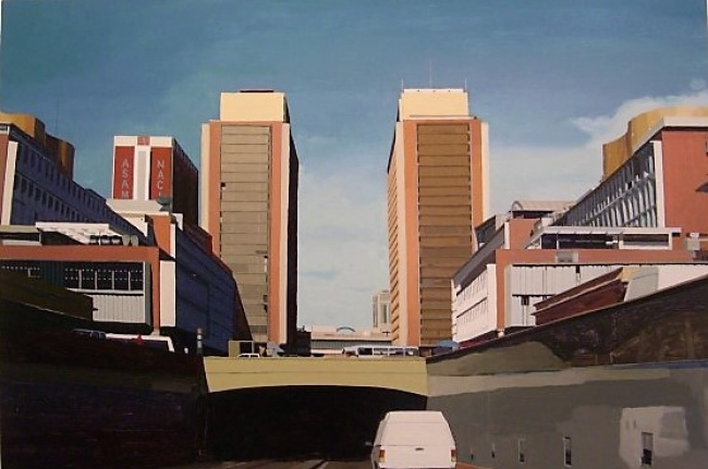 Serie Torres CSB, vista oeste, 2010