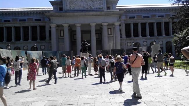 BORRANDO LAS MENINAS MADRID | Ir a la ficha del Artista 'Áureo Gómez Gallego'