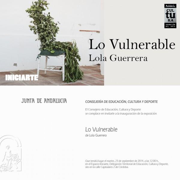 Lola Guerrera, Lo vulnerable
