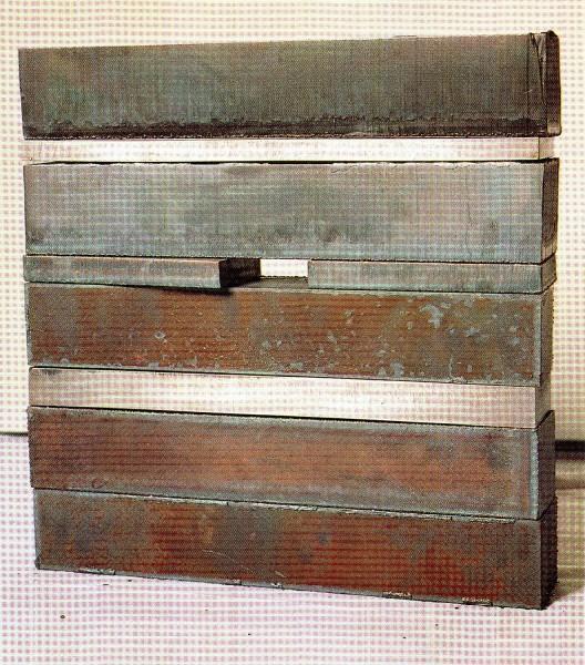 Acceso 41x40x7 1993 Hierro | Ir a la ficha del Artista 'Encarna Monteagudo García-Tomás'
