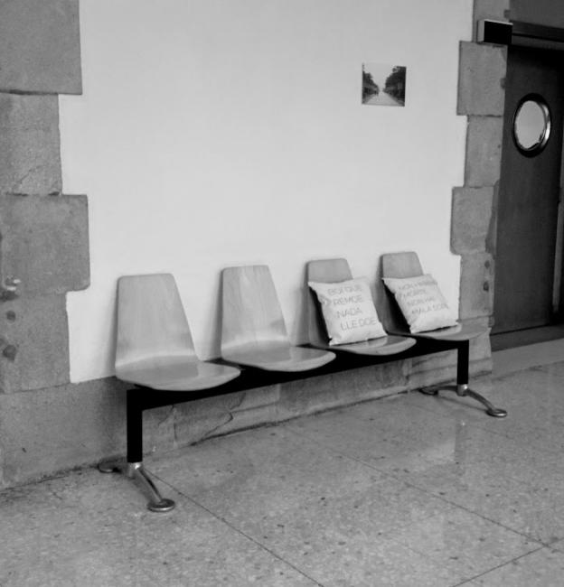 En Tránsito. Exposición efímera hospital Provincial de Pontevedra