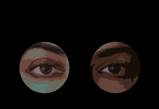"""Obra de Arte Digital  - Serie """"olhARTE II"""" - 2015"""