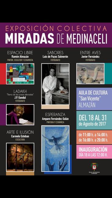 Exposición colectiva Almazán