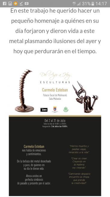Exposición fundación dearte Medinaceli