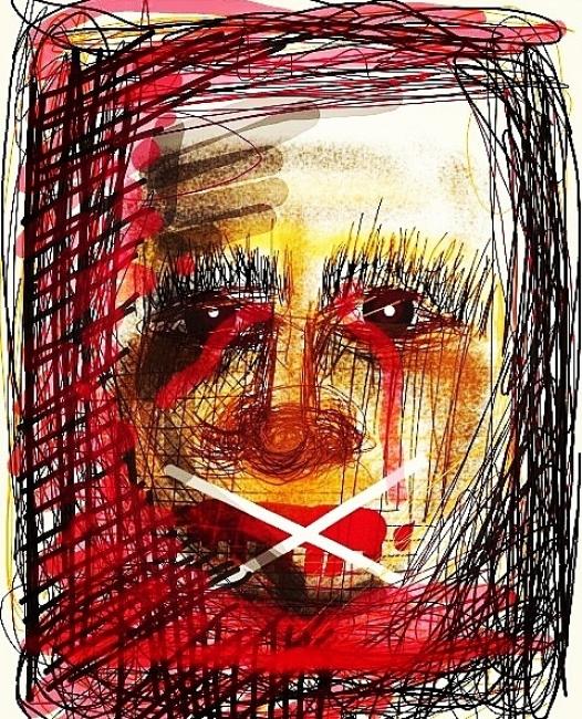 El niño Lloró (Arte digital)